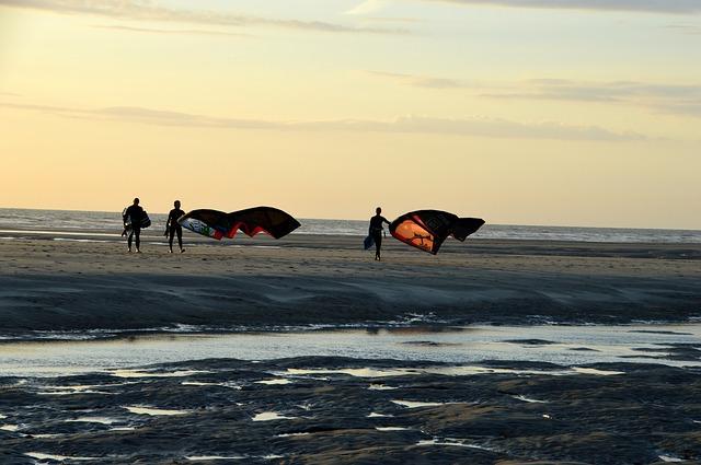 kite-surf - Cote d'Opale